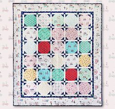 Vintage Market by Tasha Noel for Riley Blake Designs—free quilt pattern