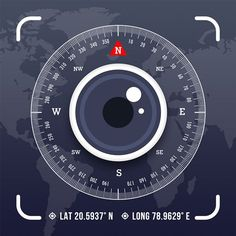 Location Map, Photo Location, Camera Application, App Of The Day, Gps Map, Image Stamp, App Icon, App Design, Apps