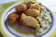 Karfiol párizsi bundában petrezselymes vajretekkel (paleo és vega recept) Paleo Recipes, Paleo Meals, Baked Potato, Mashed Potatoes, Smoothie, Protein, Baking, Ethnic Recipes, Food
