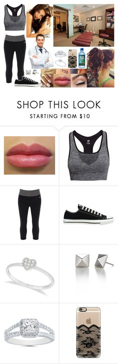 """""""At the Chiropractor"""" by samanthanicole39 ❤ liked on Polyvore featuring H&M, Bench, Converse, Allurez and Casetify"""
