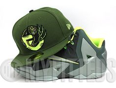 f6c54085f00 Custom Vancouver Grizzlies Army Olvie 59Fifty Fitted Cap by NBA x NEW ERA