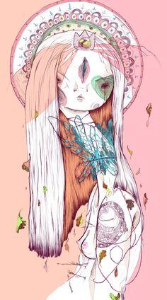 Timothy by Celina de Guzman, via Behance