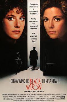 Black Widow (1987) Original One Sheet Movie Poster
