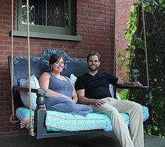 Repurposed Porch Swing