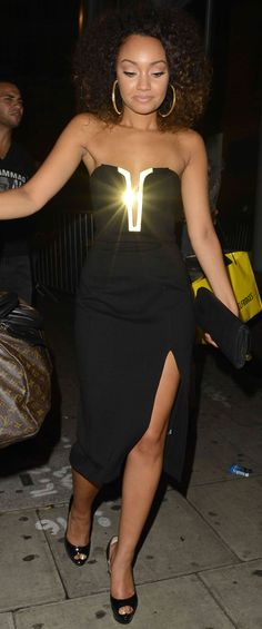 Leigh-Anne Pinnock celebrated her birthday with her fellow bandmates Jade Thirlwall, Jesy Nelson, and Perrie Edwards at 55 Club in London, revealing Leigh Little Mix, Alex Love, Leigh Ann, Jesy Nelson, Perrie Edwards, British Actresses, Birthday Dresses, Celebs, Celebrities