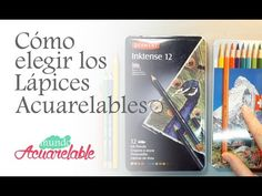 Técnicas de Ilustración 16 LÁPICES ACUARELABLES (Propiedades, uso y aplicación) Faber-Castell - YouTube