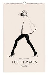 2015 Les Femmes Calendar designed by Garance Dore for Rifle Paper Co.  Available at Northlight Homestore