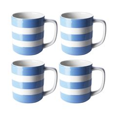 Have a gander at this lovely TG Green Set of 4 mugs, 12oz /34cl