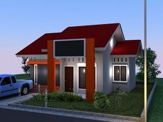 The Minimalist Model 2016 - Same with the beauty of the shape of the house....More visit http://goo.gl/HziUrY