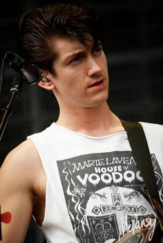 greaser hair, voice of an angel.