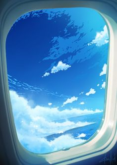 a sky with an ocean view by donsaid on DeviantArt