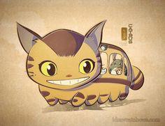 Catbus illustration