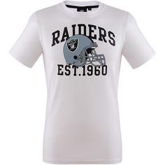 Oakland Raiders Pitchout T-Shirt    Die Oakland Raiders, aus dem kalifornischen Oakland, sind eine amerikanische Profifootball Mannschaft der National Football League. Sie spielen in der Wester Division der American Football League (AFC) und konnten bereits 12 Divisionssiege für sich entscheiden. Für den Superbowl konnten sie sich bereits fünfmal qualifizieren, von denen sie dreimal den Titel g...