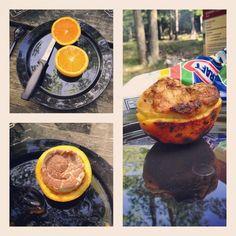 photo by michellelncln: #camping #campfire #breakfast