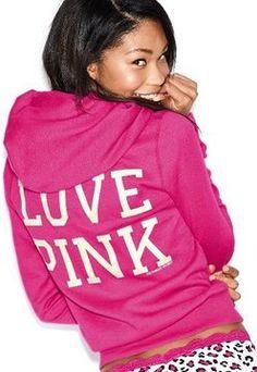 Victoria's Secret Pink® Signature Zip Hoodie