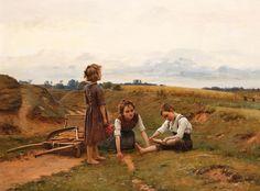 Художник Cesar Pattein (French Painter, 1850-1931). Обсуждение на LiveInternet - Российский Сервис Онлайн-Дневников