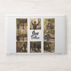 Our Tribe Add Your Family Photo Collage White Back HP Laptop Skin hiking themed wedding, hiking training, hiking boots #ValentineGift #happyanniversary #giftideas, back to school, aesthetic wallpaper, y2k fashion Hiking Gifts, Camping Gifts, Camping Ideas, Camping Supplies, Camping Essentials, Family Photos With Baby, Family Photo Collages, Hp Laptop Skin, Girl Scout Camping