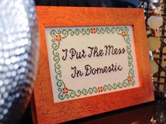Haha. DIY Network has free downloadable patterns made exclusively by Julie Jackson of Subversive Cross Stitch.