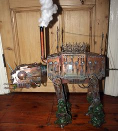 EPBOT: Steam-Powered AT-AT Enjoys Hunting Rebel Forces, Long Walks On The Beach