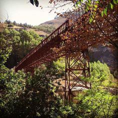 Puentes que unen y que dan un vértigo de tres pares de narices #cuenca