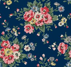 Folk Flowers | Vivid bunches of British wildflowers brighten up all your favourite styles this autumn, scattered across inky midnight blue and dusky slate grey. From new Zip Wallets and Day Bags to the must-have Mini Satchel, Folk Flowers is this season's classic floral.