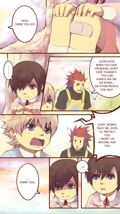 .:Day twenty-five -2-:. by semokan on deviantART if kingdom hearts was perfect