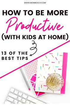 Being productive with the kids at home can be challenging, but it isn't impossible! Check out these 13 of the best tips for how to be more productive with kids at home.  #productivitytips #workfromhome #stayathomemom #howtobeproductive #howtobeproductivestayathomemom Parenting Toddlers, Parenting Advice, Mental Health Support, Good Motivation, Learning Spaces, Work From Home Moms, Best Mom, Kids House, Baby Care