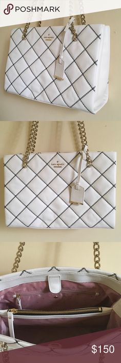 Kate spade ♠️ bag New without tags..may have some markings from being storaged, authentic..no lowballing please .. use offer feature to negotiate price or you will be ignored 💕 kate spade Bags Shoulder Bags
