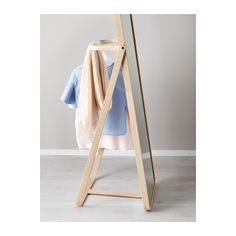 IKORNNES Floor mirror  - IKEA - I love how this has a bit of storage