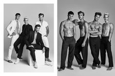 Kosmas Pavlos brings us #TeamWienerModels, an exclusive editorial showcasing some of Wiener Model Management's new wave and established home-bred Austrian models (left to right) Julian Schneyder, Patrick Kafka, Domenique Melchior & Oliver Stummvoll.