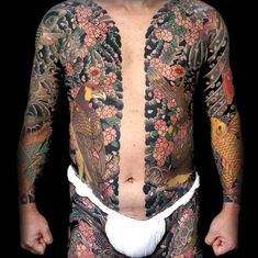 traditional japanese tattoo horisyshi III.