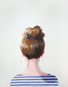 top knot 17 by elizabeth mayville
