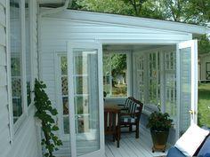 Porche Covered Porch Designs | DECK becomes Covered Porch - Porche Designs - Decorating Ideas - HGTV ...