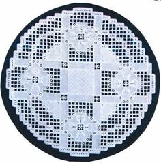 """This lovely design starts with a 16"""" square of 25-count white Jobelan (890-0) or white Lugana (3835-100).  You will need one ball each of DMC Pearl Cotton Size 5, 8, and 12 in White."""