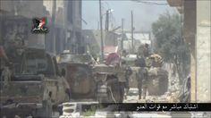 Noticia Final: VÍDEO: A fronteira de Hama torna-se terreno de mat...