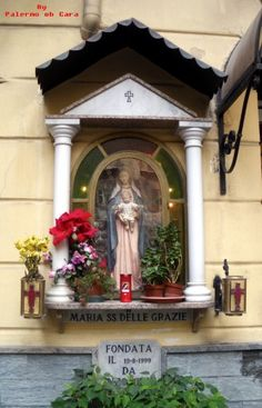 Marian Garden, Home Altar, Hail Mary, Chapelle, Blessed Mother, Mother Mary, Madonna, Religious Art, Holi