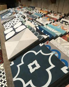 "682 Likes, 6 Comments - Antique and Encaustic Tiles (@jatanainteriors) on Instagram: ""Friday afternoon shelfie. #encaustictiles #handmadetiles #tilelove #showroom #interiordesign…"""