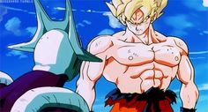 Goku has been working out :D xDDD