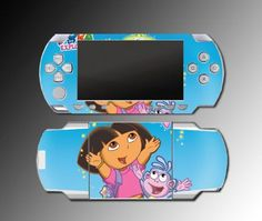 Dora the Explorer Boots Video Game Vinyl Decal Skin Protector Cover 6 for Sony PSP Playstation Portable 1000 « Game Searches