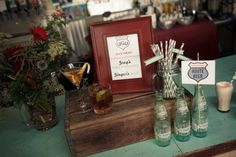 Designer cocktails are always a big hit! Create drink names that sound pleasing with the couples names and you are in it to win it!