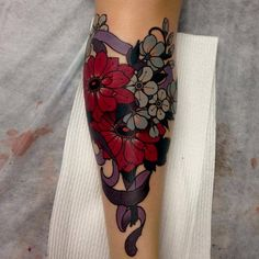 Bouquet by Emily Rose Murray. #neotraditional