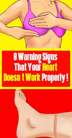8 Warning Signs That Your Heart Doesn't Work Properly ! 8 Warning Signs That Your Heart Doesn't Work Properly ! Inbound Marketing, Marketing Digital, Just In Case, Just For You, Bodybuilding, Endocannabinoid System, Thinking Day, Group Boards, Warning Signs
