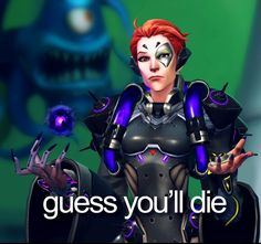 When you run out of healing and you just used your damage orb and a teammate asks for healing