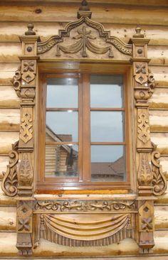 Наличники для деревянного дома