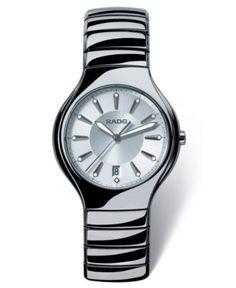 Rado Watch, Women's True Platinum Ceramic Bracelet R27654102 - Women's Watches - Jewelry & Watches - Macy's