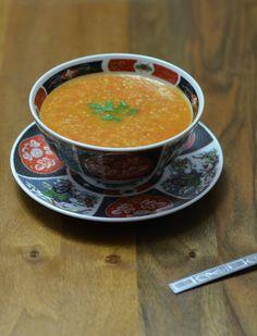 Hssoua Belboula Hamra - Barley Soup with Tomatoes