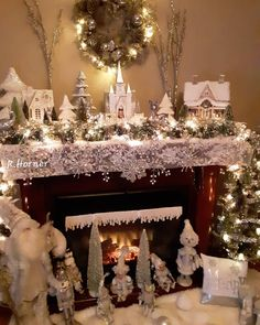 "Rose's Creations on Instagram: ""Another day in the 70s here.I have to create my own winter wonderland.Have a great day everyone!☃️☃️☃️. #merrychristmas2019🎁🎅🎄…"" Christmas Mantels, Christmas 2019, Christmas Tree, Have A Great Day, Winter Wonderland, Merry, Hedwig, Create, Holiday Decor"