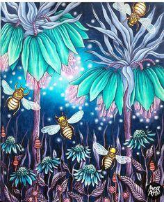 Art by @audreymog  Bom diaaaa com esse colorido maravilhoso! ❤☄❤❤ #colorindomeujardimencantado #LoveIn30Languages  #mycreativeescape #mandala  #johannabasford #secretgarden  #FlorestaEncantada #enchantedforest #adultcoloringbook #jardimdosbroder  #fabercastell #maped #staedtler  #mapedcolorpeps #fabercastellbrasil #polychromos #livrocoloriramo #parkyoungmi #hannakarlzonsommarnatt #oceanoperdido  #carolpafiadache #mystaedtler #mag...