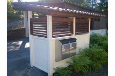 Jätekatos Triplarikka - Nettihirsi.fi Pergola, Home Appliances, Outdoor Structures, Electrical Appliances, Outdoor Pergola, House Appliances, Arbors