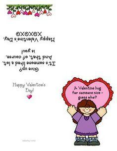 VALENTINE'S DAY CARD FREEBIE!
